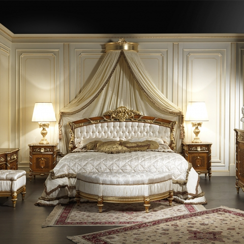 Luxury furniture made in italy vimercati meda - Camere da letto classiche di lusso ...